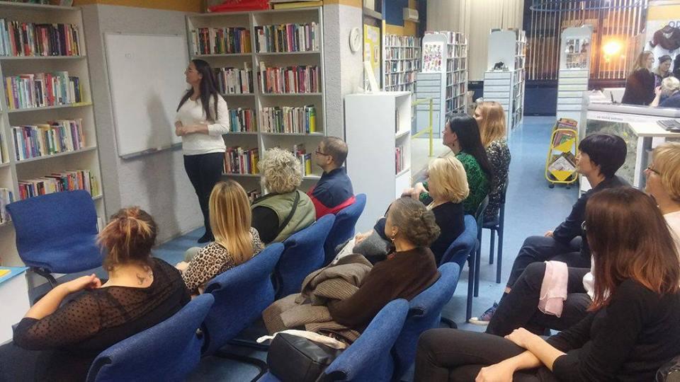 Besplatno predavanje Knjižnica Savica