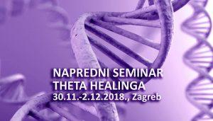 'Napredni DNK seminar', Zagreb @ Theta centar Nathea   Zagreb   Hrvatska